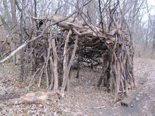 Structure near Hidden Beach