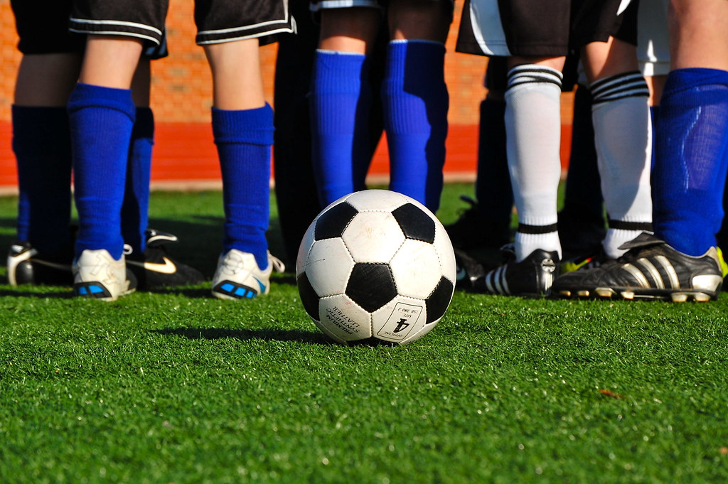 Soccer ball photo by michellemilla on Flickr (cc)