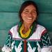 María con un huipil muy bonito; cerca de Santa Catarina Ticuá, (Región Mixteca), Oaxaca, Mexico por Lon&Queta