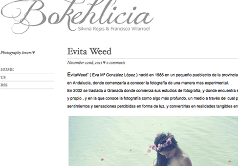 Captura web Bokehlicia
