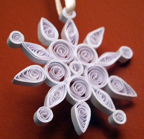 Quilled Snowflake - 3