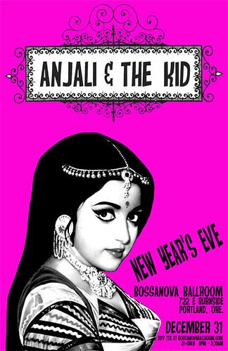 Portland New Year's Eve DJ Anjali & The Incredible Kid