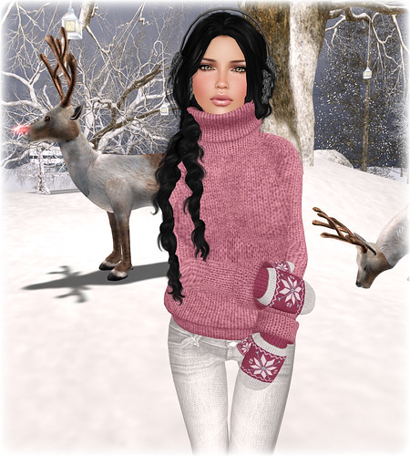 With Love again Hunt + Winter Sweater