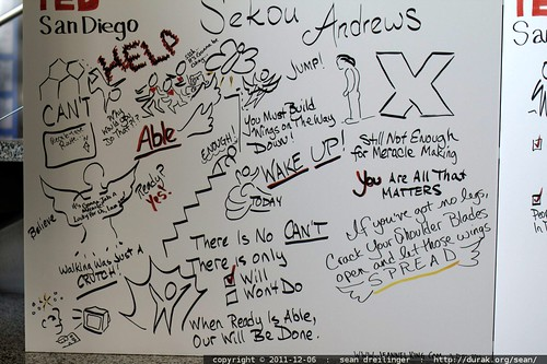 graphic recording by Jeannel King at TEDxSanDiego    MG 3745
