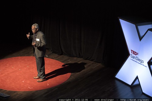 Veerabhadran Ramanathan of Scripps Institution of Oceanography speaks to TEDxSanDiego    MG 3797