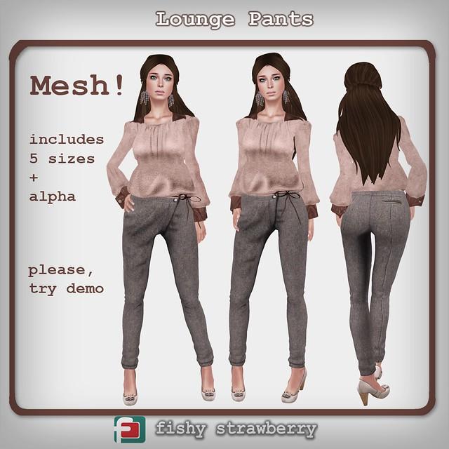 Lounge Pants (mesh)