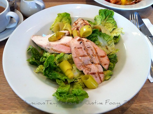 Grillled Chicken Salad with Avocado Mayonnaise - Villandry, Bicester Village