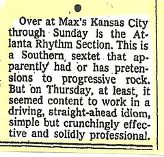 08-17-74 NYT Review - ARS @ Max's Kansas City