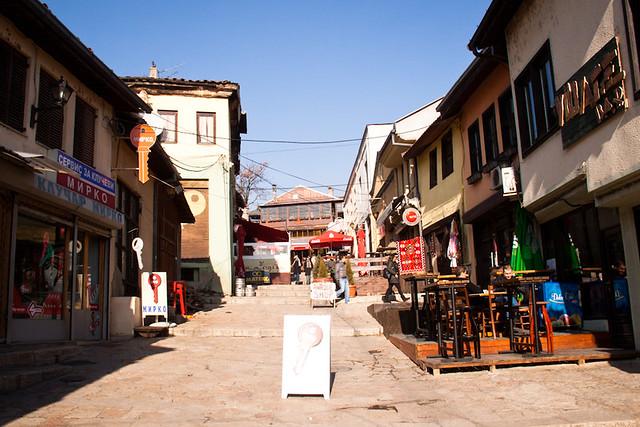 Old town skopje