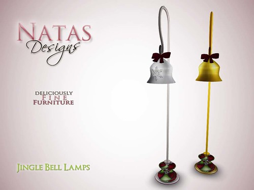Jingle Bells Floor Lamps by natashashoteka