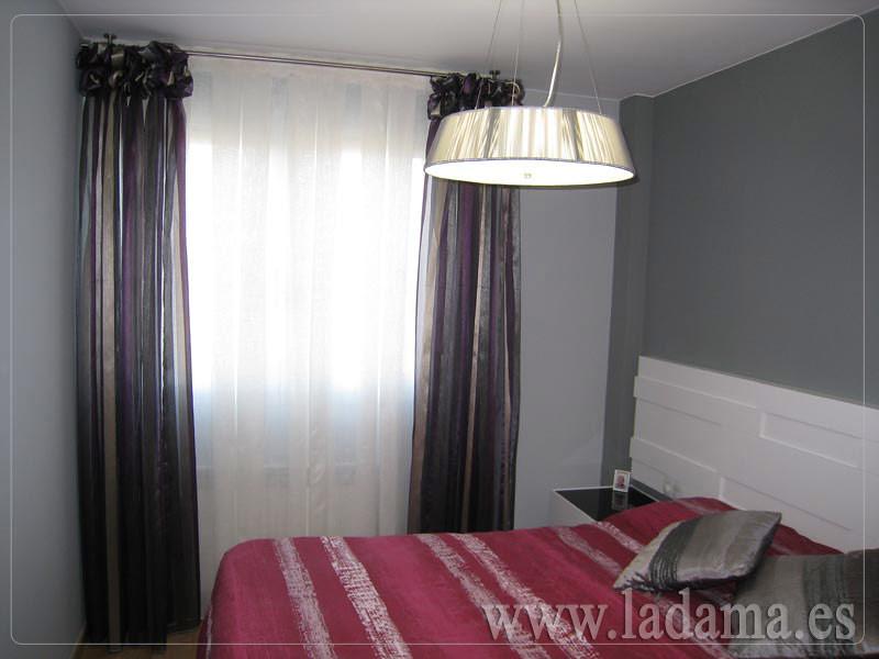 Fotograf as de cortinas modernas la dama decoraci n - Decoracion cortinas dormitorio ...