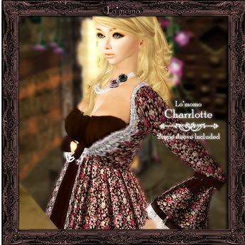 [Lo*momo] Charrlotte(brown), 180 lindens by Cherokeeh Asteria
