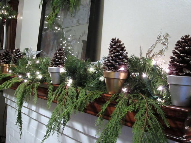 Holiday Mantel