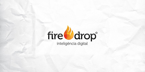 Logomarca Fire Drop by chambe.com.br