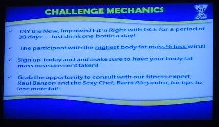 Fit 'n Right Science of Sexy Challenge Mechanics