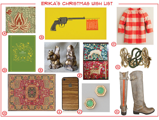 2011 christmas LIST-Erika