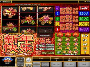 Happy New Year Slot Machine