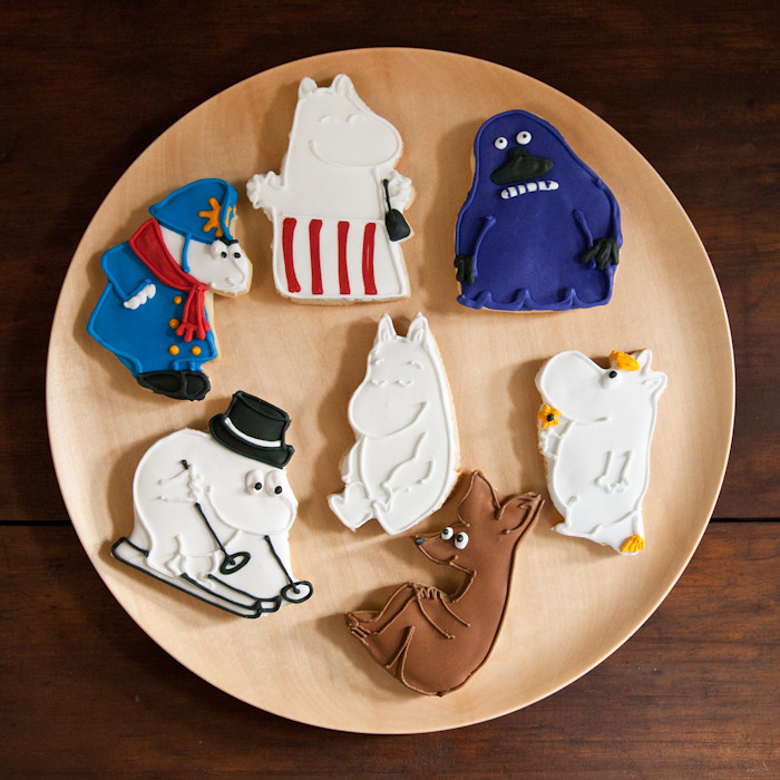 Mjolk Moomin Cookies