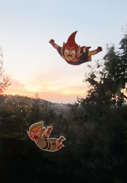 Fotomontaje Zelda