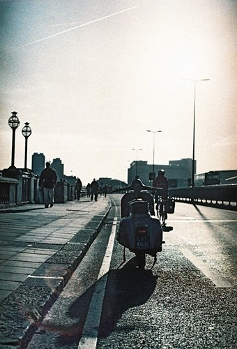 Waterloo Bridge December 2011 by Vespamore !