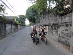 Samen fietsen met Martje en Frank