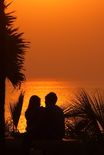 Lovers sunset!