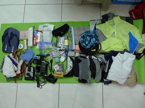 單車環島旅行相關物品裝備
