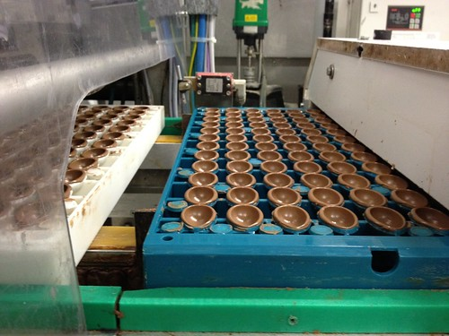 chocolate easter egg factory