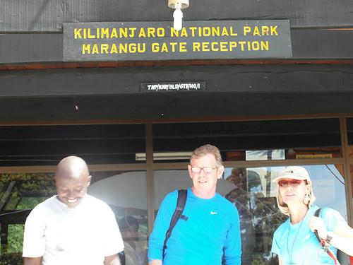 Marangu Gate Reception