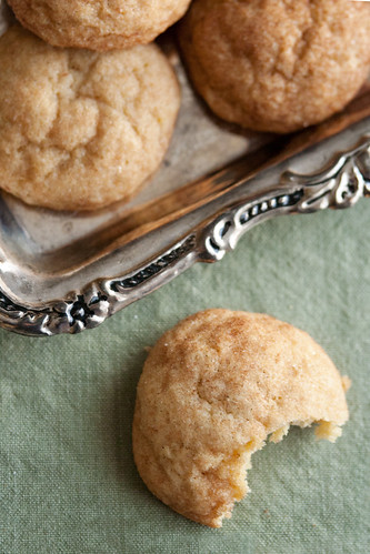 Saffron Snickerdoodle Cookies - Crumb: A Food Blog