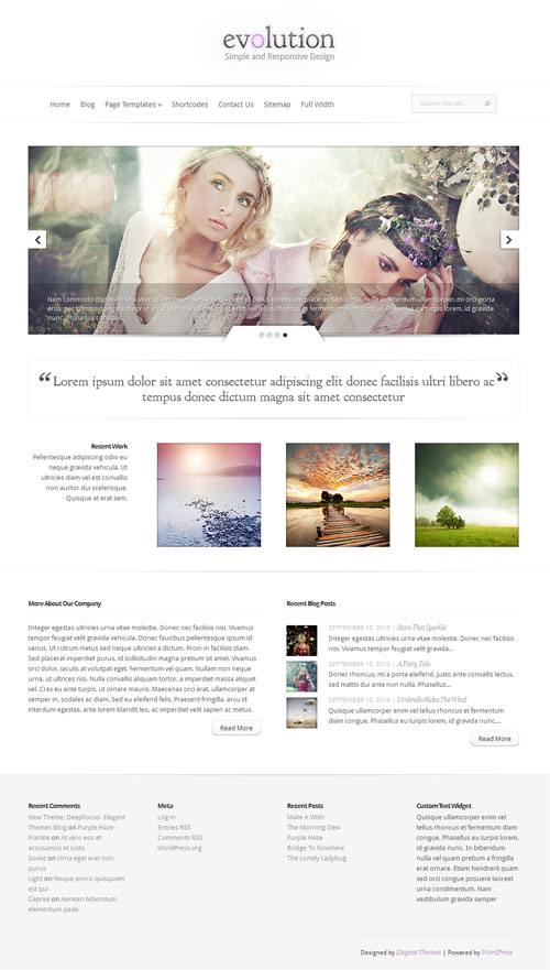 evolution-wordpress-theme