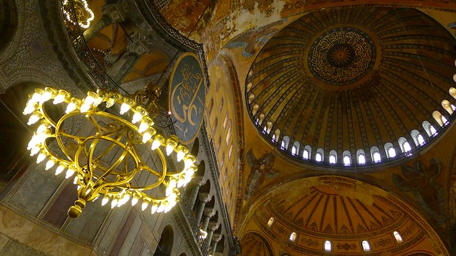 looking above aya sofia