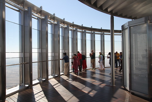 The observation deck is pretty cool-looking