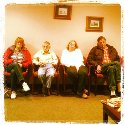 Waiting Room Purgatory by virtualDavis