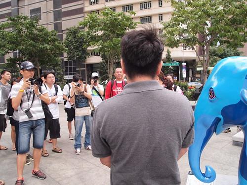Elephant Parade/URA Bloggers Walk