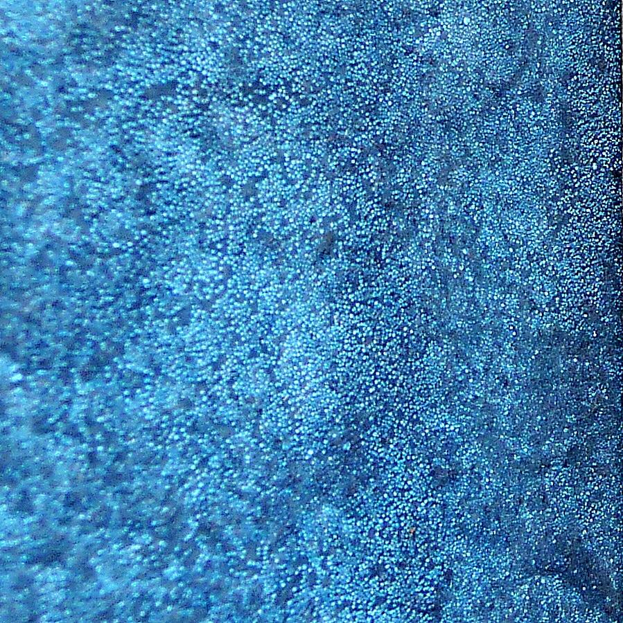 Johanna S Design Studio Luxurious Blue Glass Beads Wall