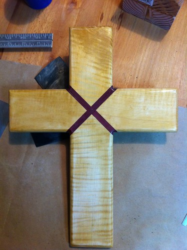 Maple cross w/ purple heart