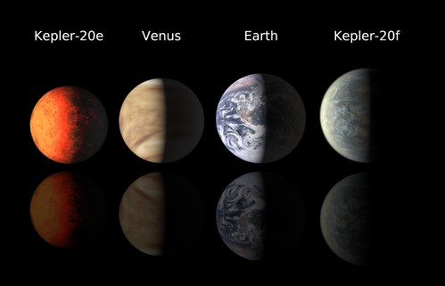 """Kepler-20e y Kepler-20f"" by Kanijoman, on Flickr"