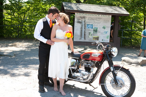 Date and location of wedding Taughannock Falls State Park near Ithaca