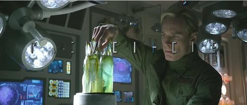 Prometheus-Fassbender Experiments