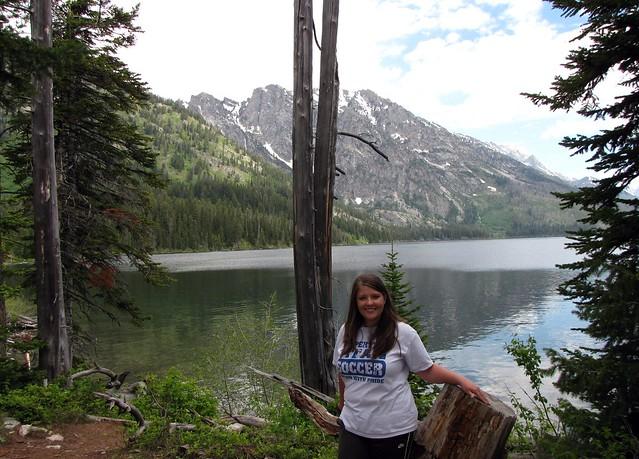 Trail by Jenny Lake