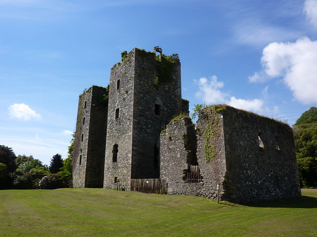 The ruins of Castle Kennedy