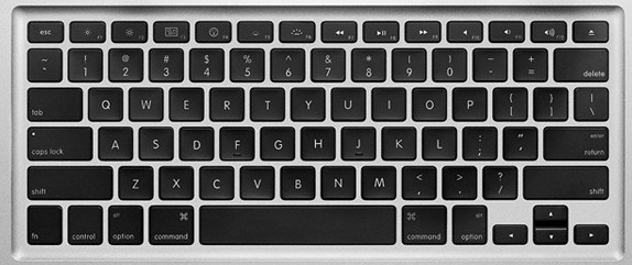 MacBook Air keyboard