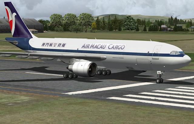 Air Macau Cargo A300