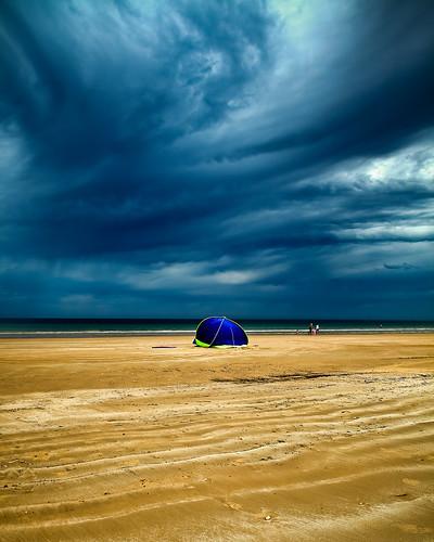 Moana Beach Before Storm, Australia