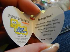 SpongeBob tag was funny..