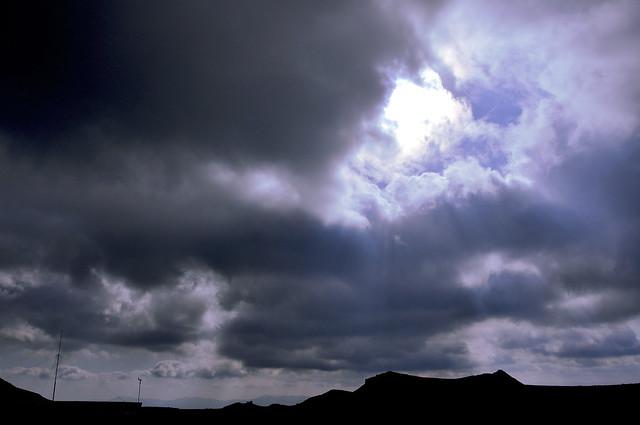 langit petang