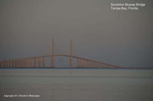 Sunshine Skyway Bridge by USWildflowers, on Flickr