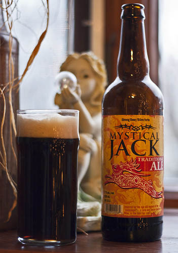 Review: Minhas Creek Craft Brewing Mystical Jack Traditional Ale by Cody La Bière
