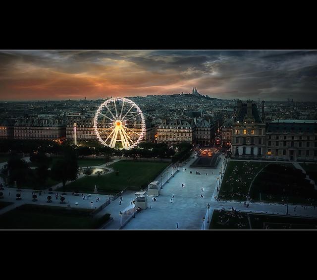 Fly Over Paris V